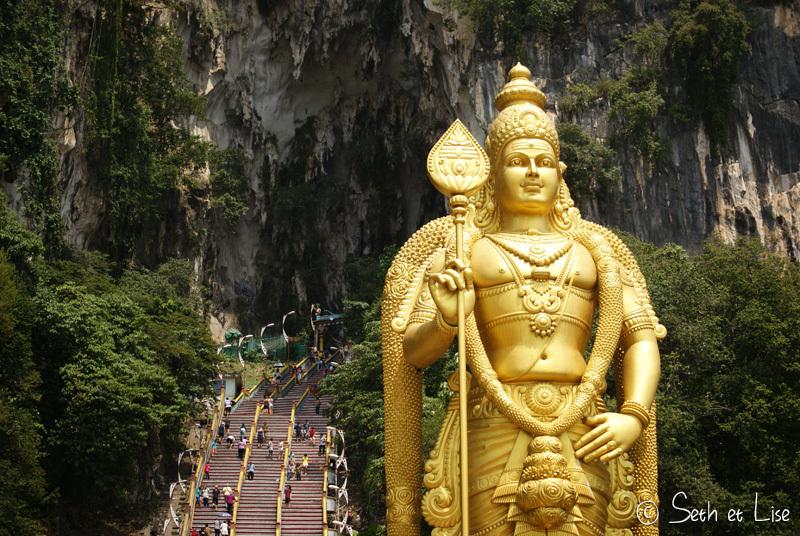 Excursion aux Batu Caves
