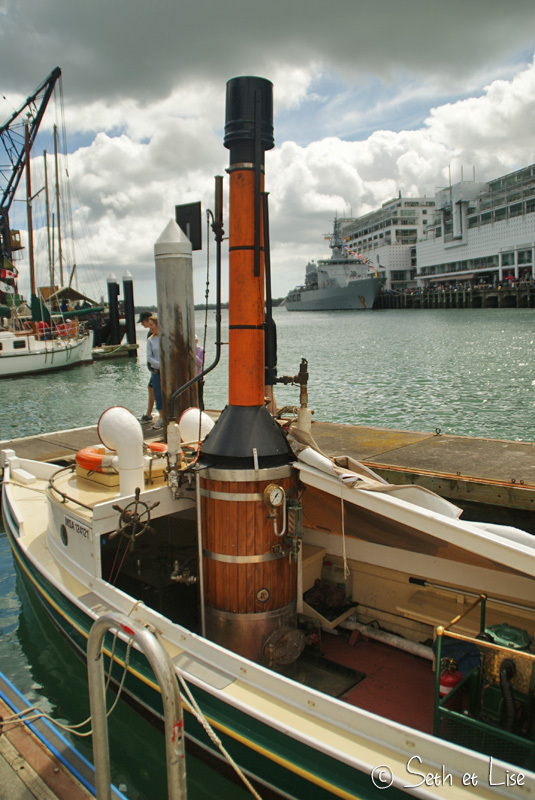 Port d'Auckland et Silo Park