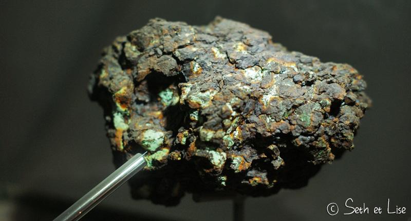 meteorite extra terrestre