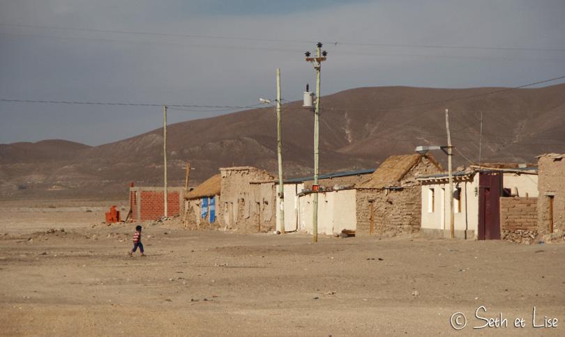 abandonned village