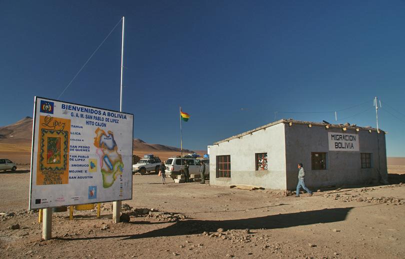 border bolivia chile