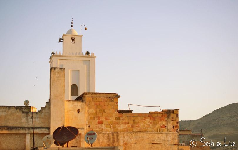 minaret fes maroc
