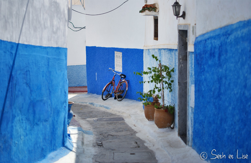 Kasbah des Oudayas et médina de Rabat