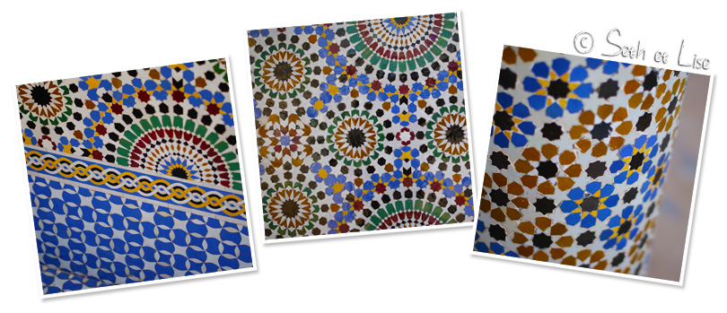 mosaique rabat maroc