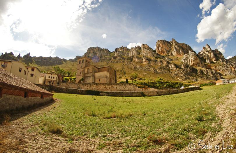 village spain mountain