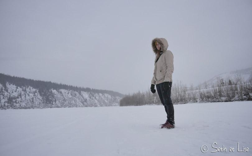 klondike river ice walking