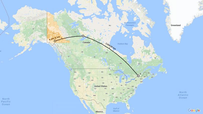 map airnorth flight