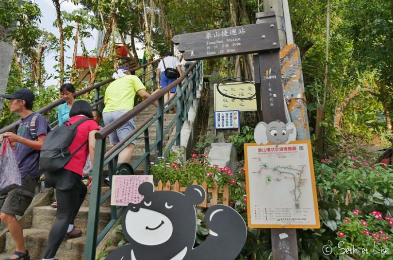 taipei elephant mountain trail