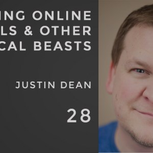 slaying online trolls and other magical beasts, handling negative feedback on social media, the seminary of hard knocks podcast with seth muse, justin dean of that church conference, thatcc
