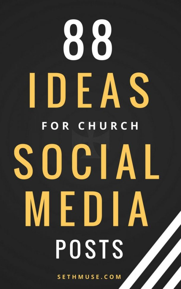 88 ideas for church social media posts, seth muse, the seminary of hard knocks podcast