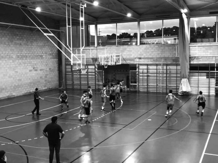 Imatge de l'eqip de bàsqued junior masculí de Felanitx