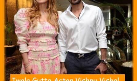बैडमिंटन चैंपियन ज्वाला गुट्टा और विष्णु विशाल की शादी की तारीख तय हो गई है Jwala Gutta Actor Vishnu Vishal Married date fixed for 22 April