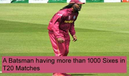 A Batsman having more than 1000 Sixes in T20 Matches, In This IPL a Batsman who has crossed the 1000 sixes in the history of T20 matches