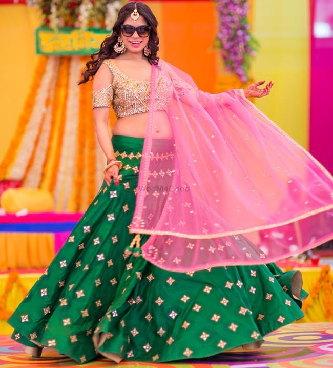 latest lehenga color