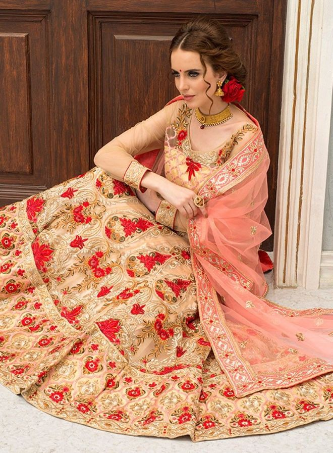 f57829e6bd9 Vast range in bridal lehenga has created a great competition in the market  as well. The trends coming up in 2019 are very elegant