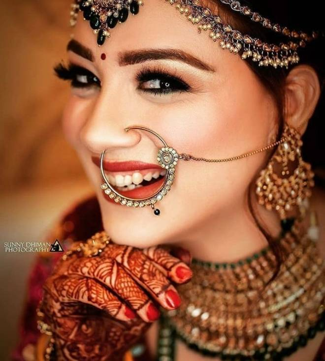 bridal naths designs