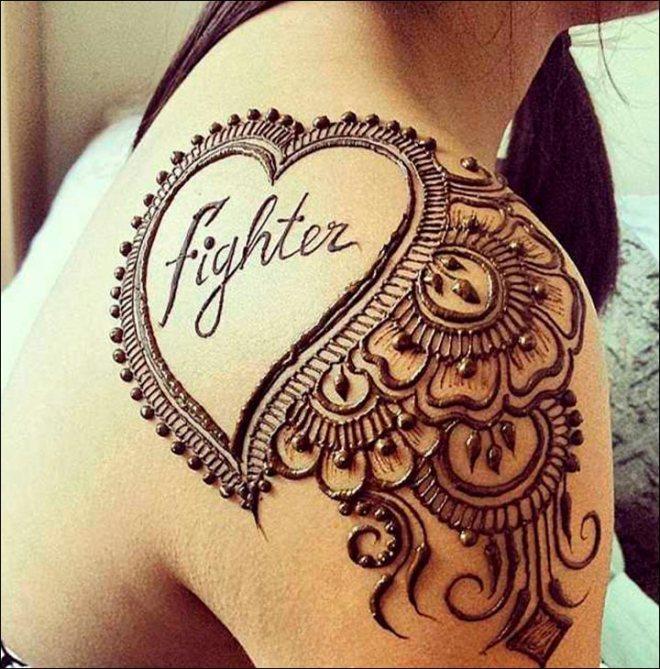 mehndi designs as tatto