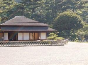 Teahouse in Ritsurin Park, Takamatsu