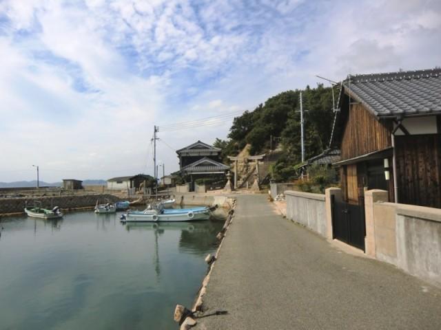 Ko's port on Teshima