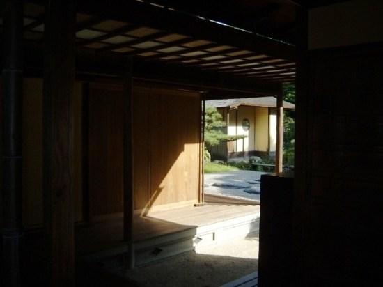 Inside the Ritsurin Teahouse in Takamatsu