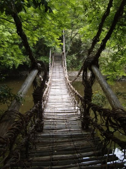Shikoku Mura - Vine Bridge