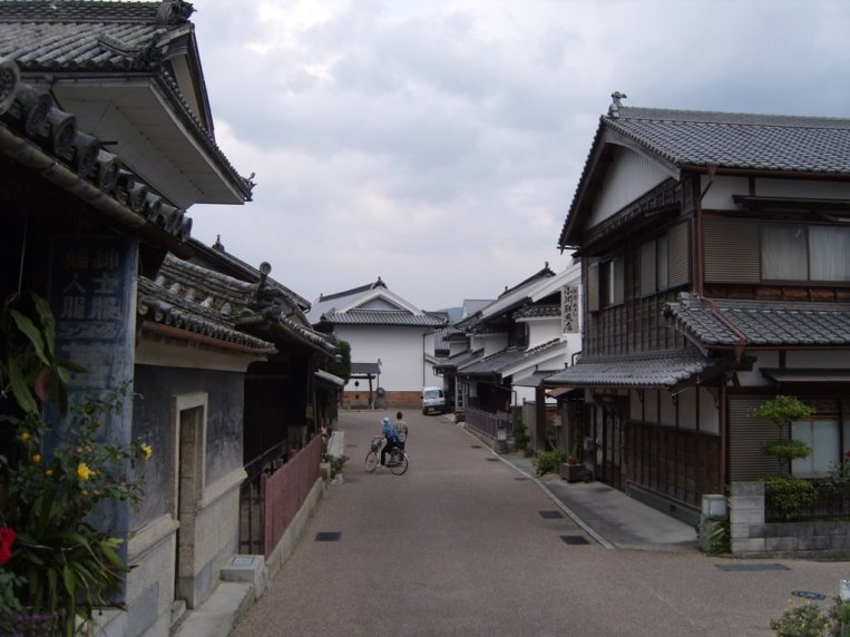 Wakimachi in Mima, Tokushima