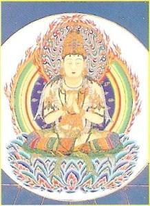 Zentsuji - dainichi buddha in kongokai mandala