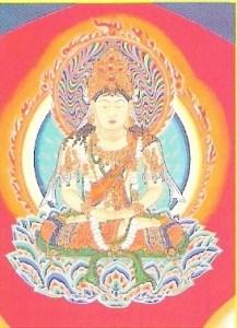 Zentsuji - dainichi buddha in taizokai mandala