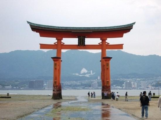 Itsukushima's Otorii