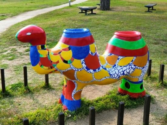 Benesse Art Site - Beach - Niki de Saint Phalle