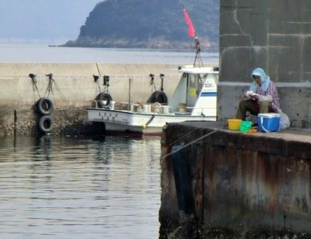 Fishing in Honmura
