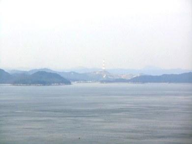 Honmura from the sea.
