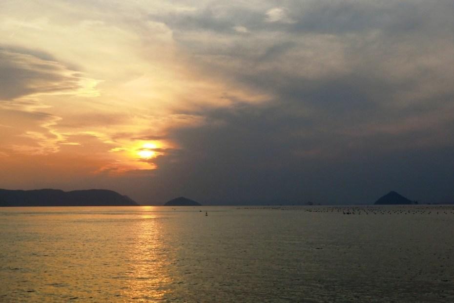 Sunset from Ogijima