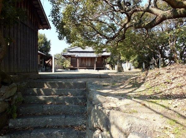 Shrine on Shamijima