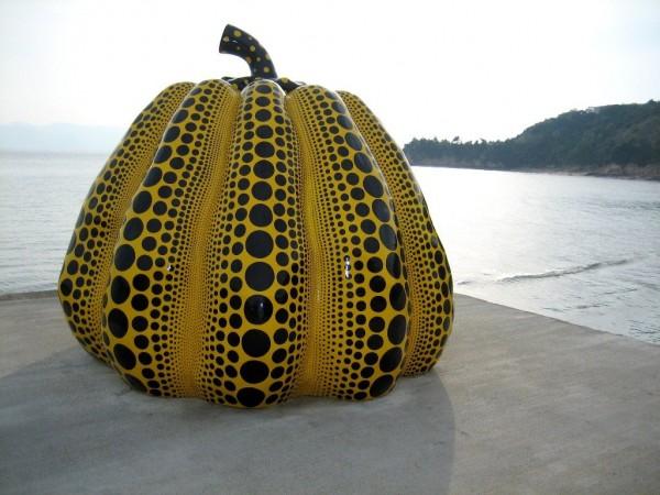 Yayoi Kusama - Yellow Pumpkin