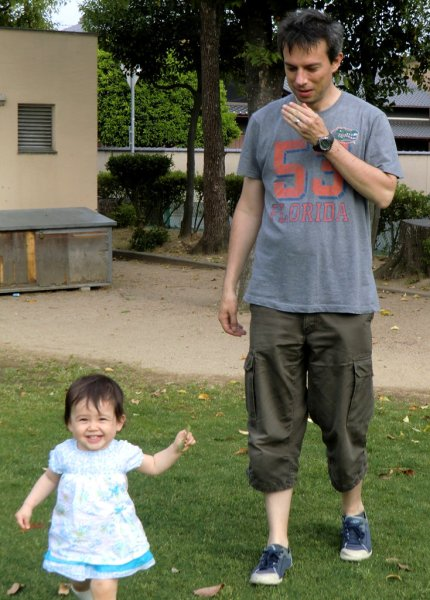 Hana and Dad