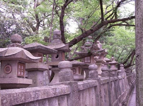 Konpira-san - First Steps - 20 - Stone Lanterns