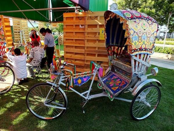 Bangladeshi rickshaws by Rafiqul Islam and Syed Ahmmed Hossain