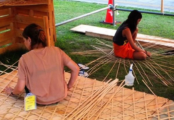 Bengal Island - July 21 - Weaving Weaving 1