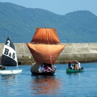 Bangladeshi Dinghy Launch in Takamatsu