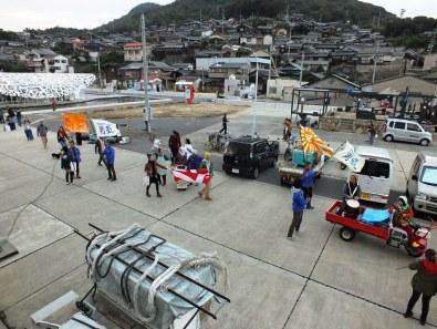 Last day of the Setouchi Triennale on Ogijima -12