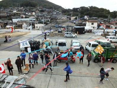 Last day of the Setouchi Triennale on Ogijima -15