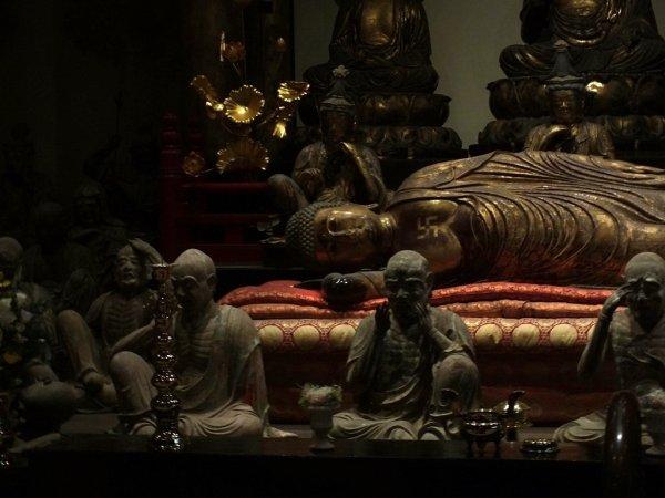 Honen-ji - Sanbutsudo - Bouddha