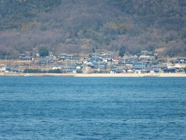 Teshima Ko in the distance - 1