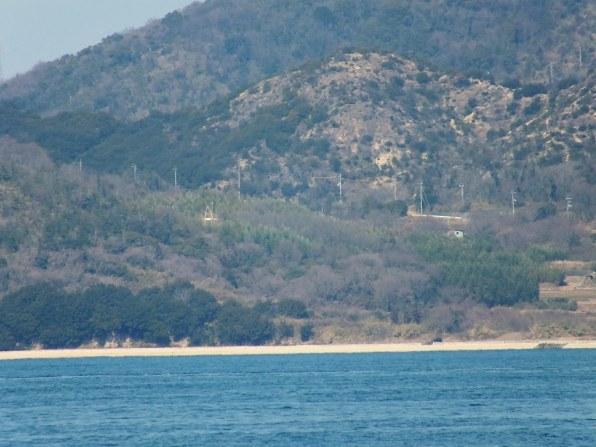 Teshima Ko in the distance - 2
