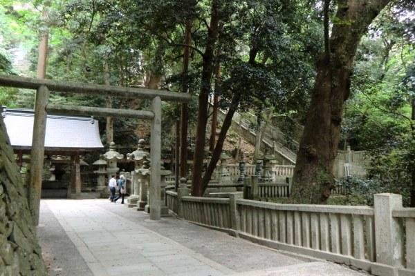 Konpirasan - last steps before the main shrine - 4
