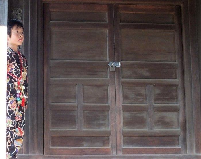 Boy at Uchinomi Matsuri on Shodoshima