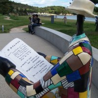 Niki de Saint Phalle on Naoshima