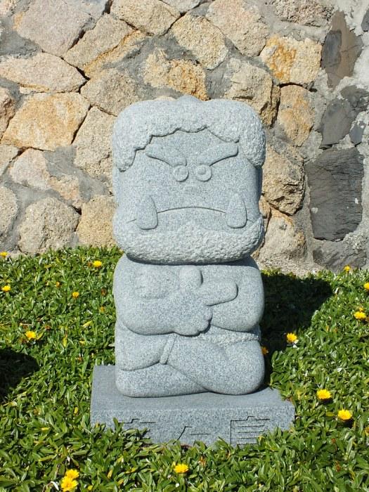 Stone Oni on Megijima