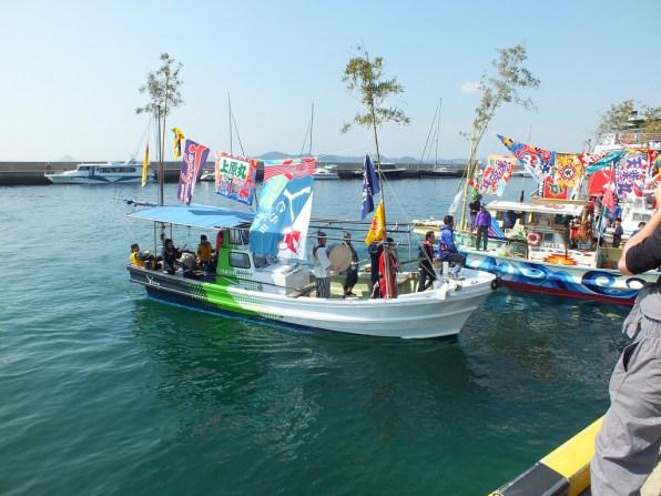 12 - Team Ogi Boat Dance